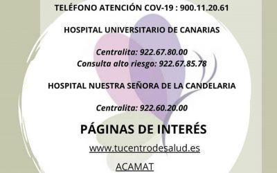 Información para las mujeres embarazadas!